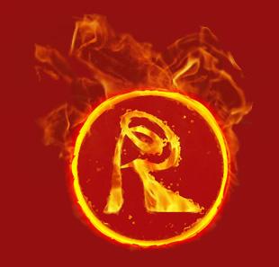 слой 2 - пламя - танцевальная обувь Радиал